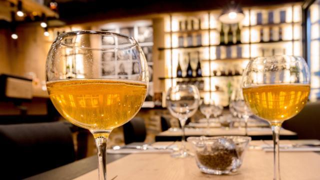 Dégustation de cidre au Comptoir Breizh Café