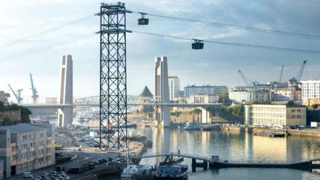 Brest - Téléphérique