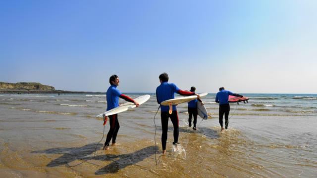 West surf association, ecole de surf à Guidel