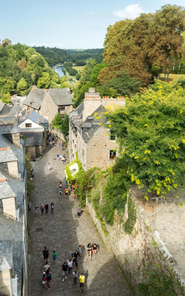 Rue médiévale - Dinan