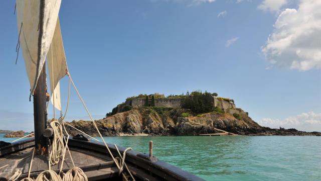 île Des Rimains à Cancale