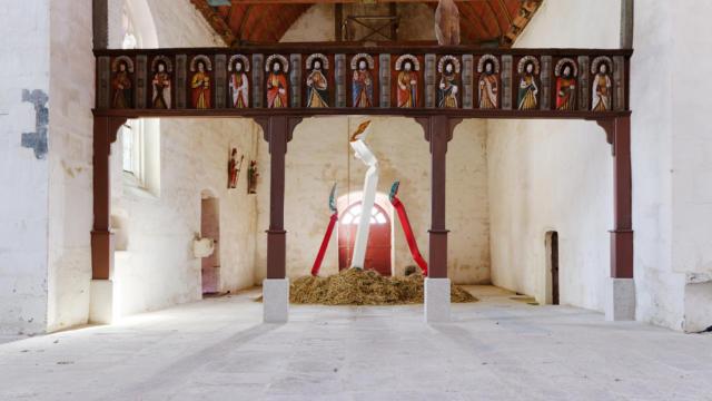 L'art Dans Les Chapelles Bernard Pagès 2017 Aurélien Mole