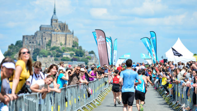 Run in Mont Saint Michel - Marathon