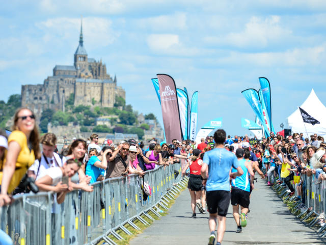 Run in Mont Saint Michel - Marathon