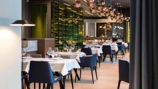Le Grand Bé, Restaurant