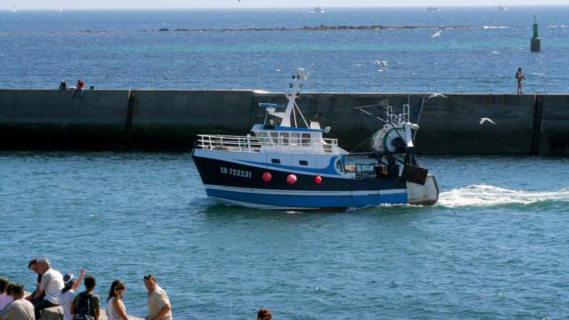 Bateaux de pêche au port du Guilvinec