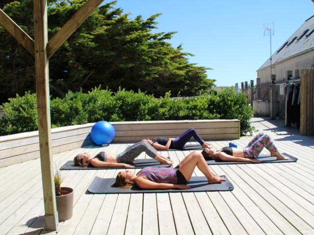 Séance de Yoga à France is Fun