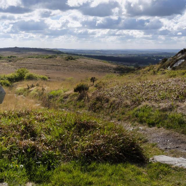 Randonnee dans les Monts d'Arree au roc'h de Trevezel