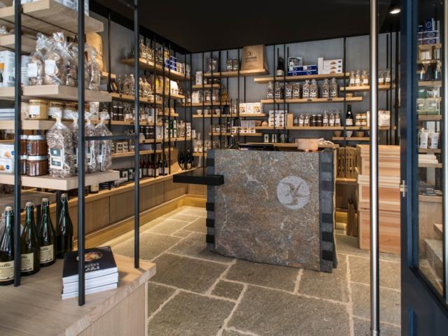 La boutique la Maison du Sarrasin à Saint-Malo
