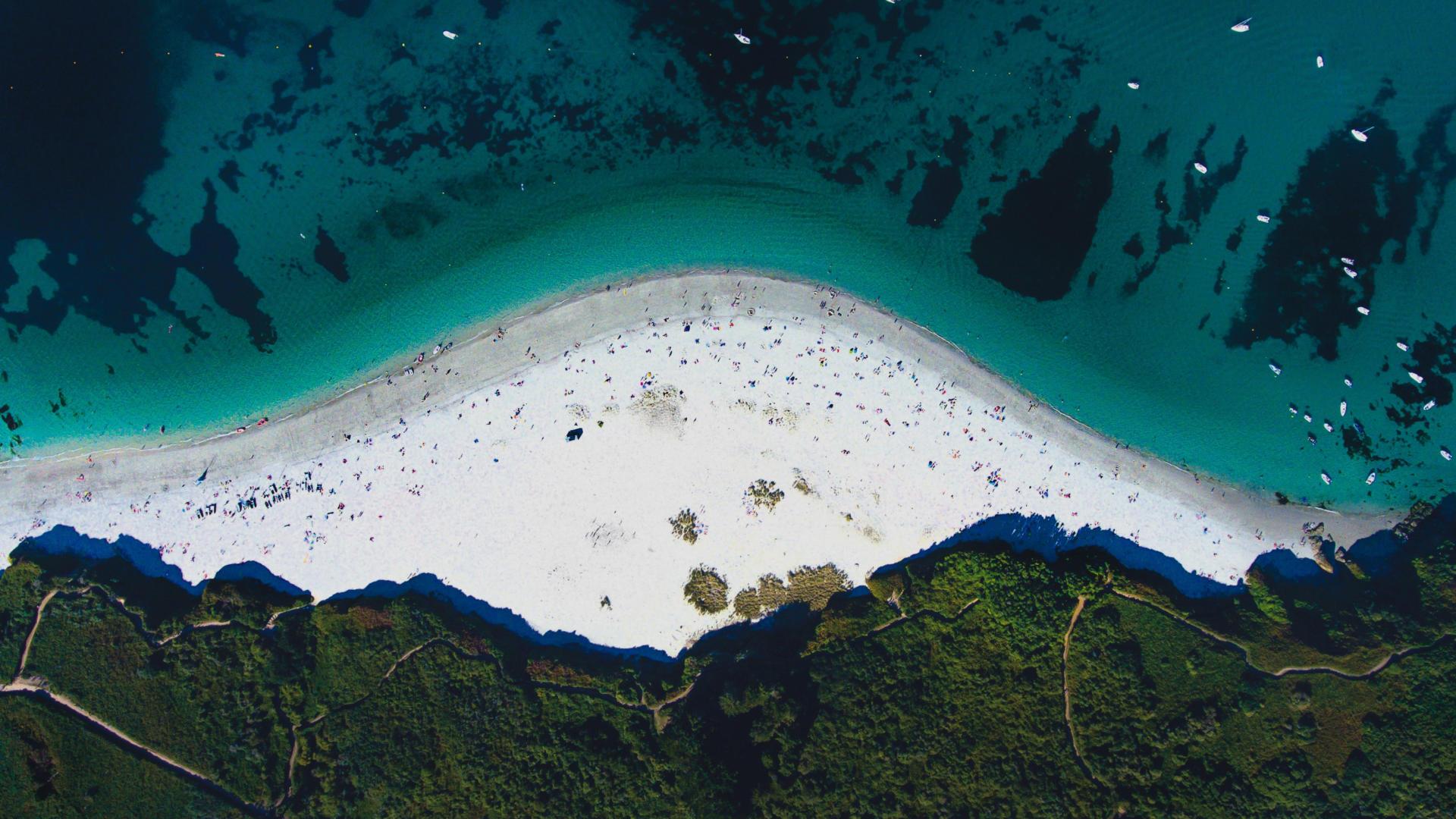 Plage des Grands Sables - île de Groix